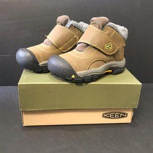 Keen kootenay boots boys toddler size 9